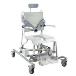 Chaise de douche INVACARE® Aquatec® OCEAN E-VIP - Réglage électrique assise, dossier, hauteur