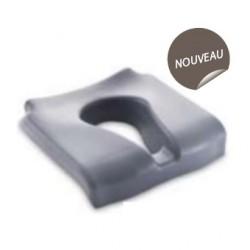 Coussin d'assise extra-confort avec découpe ergonomique pour gamme Invacare® OCEAN (sauf E-VIP)