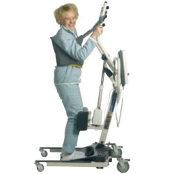 Sangle Stand Assist INVACARE® pour verticalisateurs Reliant 350 & Roze - Debout
