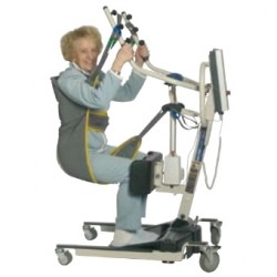 Sangle Stand Assist Transfert INVACARE® pour verticalisateurs Reliant 350 & Roze - Assis