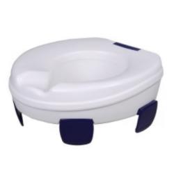 Rehausse-WC avec clips  11 cm de hauteur