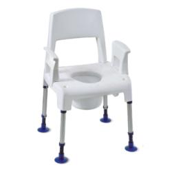 Chaise percée Pico Commote Aquatec® INVACARE