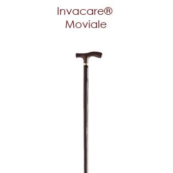 Canne Invacare® MOVIALE - 100 cm - Châtaignier - Avec poignée en T  SenUp.com