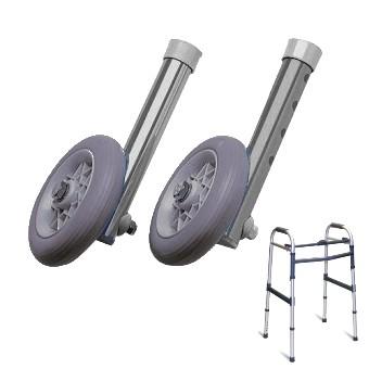 Paire de roues avant pour cadres de marche Invacare® Brio & Asteria