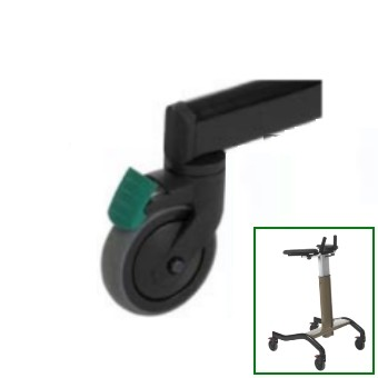 roue directionnelle invacare dolomite step up disponible sur. Black Bedroom Furniture Sets. Home Design Ideas