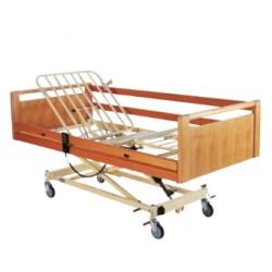 Lit à croisillon avec 3 fonctions électriques Invacare® Scanbed 440 - Freinage individuel