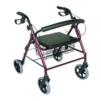 Déambulateur à 4 roues - Tcare| SenUp.com