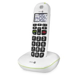 Doro PhoneEasy® 110 - Téléphone sans fil grandes touches - Blanc ou noir