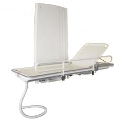 Brancard de douche Invacare® A7753 - Électrique et à hauteur variable + bac collecteur