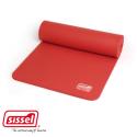 SISSEL® Gym Mat - Tapis de gym 180 x 60 x 1,5 cm - Bleu/rouge/gris