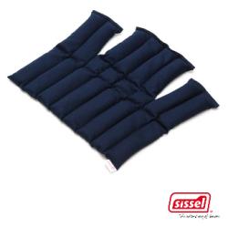 SISSEL® LINUM - Coussin chauffant en graines de lin - 36 x 38 cm