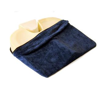 Housse pour l'assise anatomique SISSEL® Sit-Special 2 en 1 - Gris / bleu / beige| SenUp.com