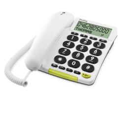Doro PhoneEasy® 312CS - Téléphone classique à grandes touches et écran