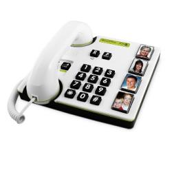 Doro MemoryPlus® 319i PH - Téléphone à grandes touches, volume amplifié et photos