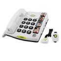 Doro Secure® 347 - Téléphone avec volume amplifié - Touches mémoire - Fonctions de sécurité