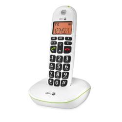 Doro PhoneEasy® 100w - Téléphone sans fil grandes touches - Blanc ou noir