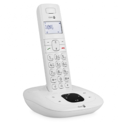 Doro Comfort 1015® - Téléphone sans fil - Fonction mains-libres et répondeur