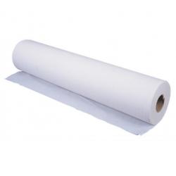 Drap d'examen blanc et confortable en ouate de cellulose 46 mètres - 50 x 34 cm