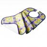 Bavoir en tissu et imperméable pour adulte - 45 x 87 cm