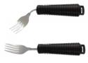 Fourchette avec manche ergonomique noir