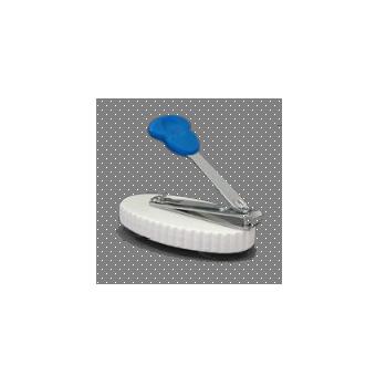 Coupe-ongles monté sur base avec ventouses