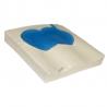 Coussin Gel Air Klé® Anti-escarres à mousse haute résilience - Enveloppes 3D et PU - 41 x 41 cm