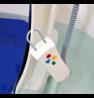 Siège de bain électrique Bellavita Classic - Rabats sans revêtement - Blanc