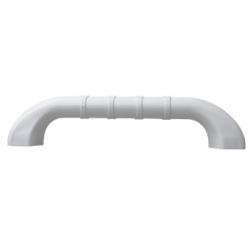 Barre d'appui ergonomique en polypropylène et aluminium - 30 cm