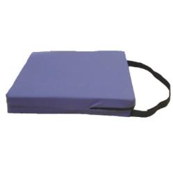 Coussin en mousse Visco élastique - Souple - 40 x 40 x 7 cm