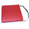 Coussin en mousse Visco élastique - Ferme - 40 x 40 x 7 cm