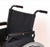 Fauteuil roulant pliant XL - 190 kg - Avec repose-pieds - Largeur de 56 cm