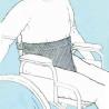 Culotte pelvienne ergonomique pour fauteuil roulant