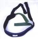Ceinture ventrale en néoprène pour fauteuil roulant