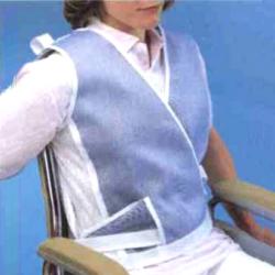 Gilet de maintien pour fauteuils et lits