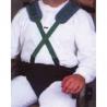 Culotte et harnais de maintien pour fauteuil roulant - Système évolutif