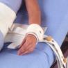 Paire d'attache-poignet pour le lit