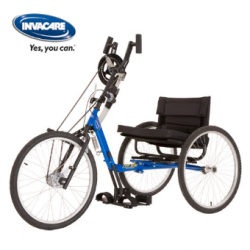 Invacare® Excelerator™ Stock XCL - Tricycle adulte à propulsion manuelle