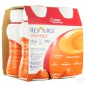 Nestlé Resource® Energy - Pack de 4 x 200 ml - Abricot