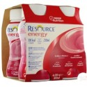 Nestlé Resource® Energy - Pack de 4 x 200 ml - Fraise& Framboise