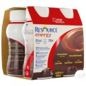 Nestlé Resource® Energy - Pack de 4 x 200 ml - Chocolat