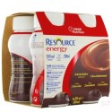 Nestlé Resource® Energy - Pack de 4 x 200 ml - Café