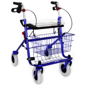 Déambulateur XL pliable à 4 roues | SenUp.com