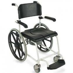 Chaise de douche Invacare® Cascade - 4 roues freinées