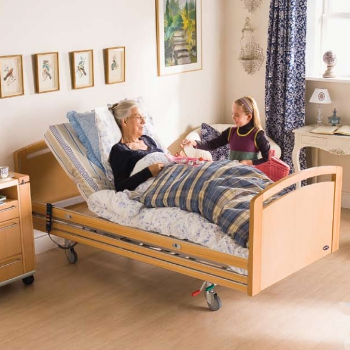 lit lectrique invacare scanbed 755 disponible sur. Black Bedroom Furniture Sets. Home Design Ideas