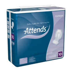 ATTENDS Contours Regular 10 - 21 protections