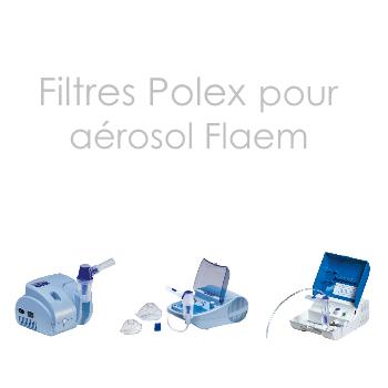 Filtres Polex pour aérosols Flaem| SenUp.com
