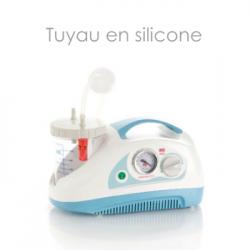 Tuyau silicone pour aspirateur de sécrétions