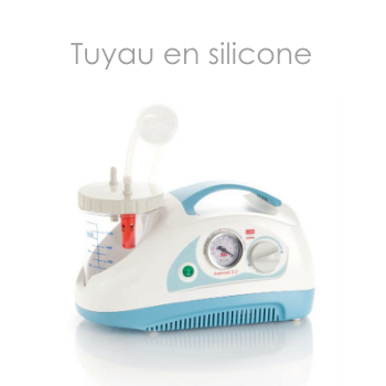 Tuyau silicone pour aspirateur de sécrétions| SenUp.com