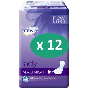 12 paquets de Tena Lady Maxi Night| SenUp.com