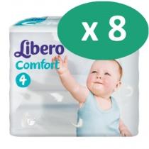 8 paquets de Libero Comfort 4